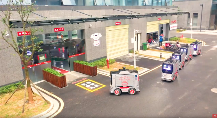 jd autonomous delivery vehicles copy