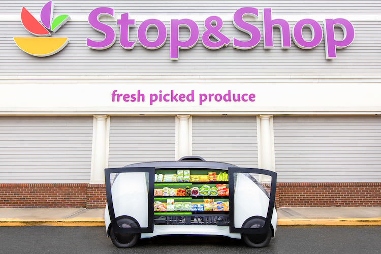 stopandshop self-driving grocery vehicle copy