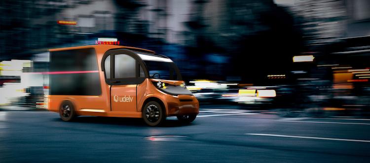 udelv autonomous delivery van copy