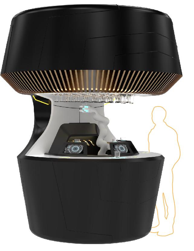 yanu robotic bartender