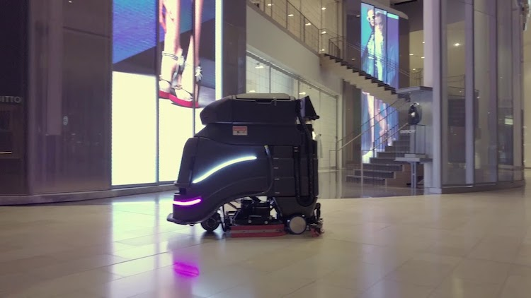 avidbots floor cleaning robot copy