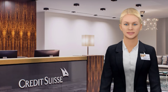 credit suisse amelia virtual robot