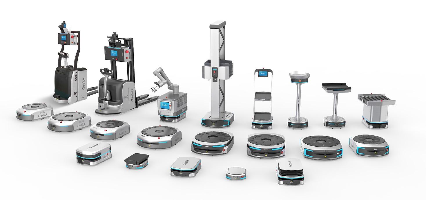 Geek Plus Robotics listed as a 'Top 50' robotics company