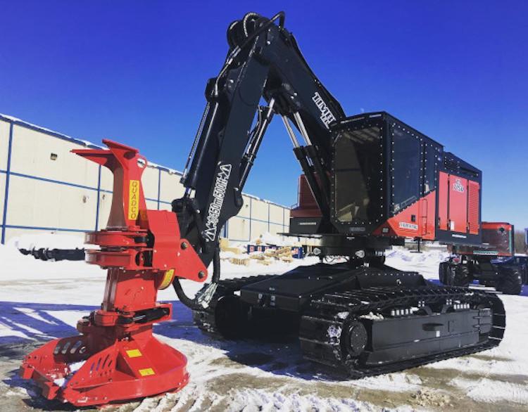 komatsu timberpro acquisition