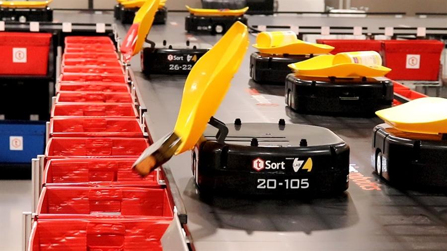 tompkins robotics warehouse