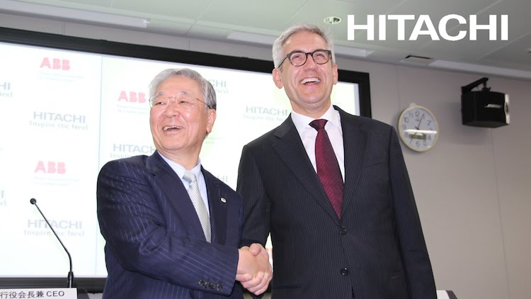 hitachi buys swiss abb copy