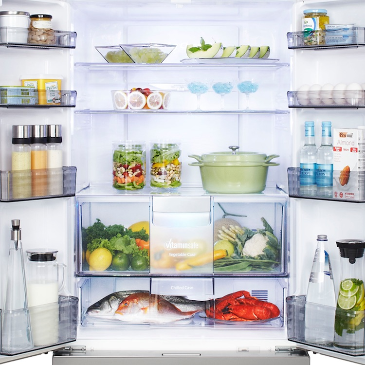 panasonic fridge open copy