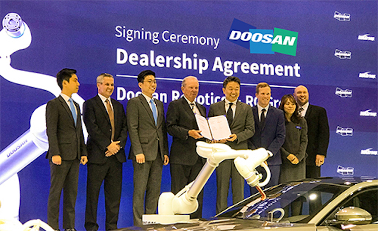 rg group and doosan