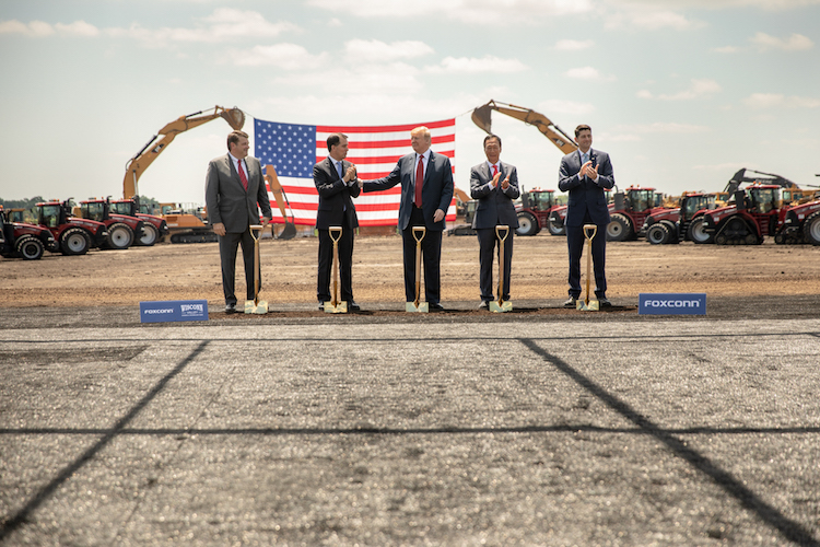 Trump Foxconn groundbreaking 2018-06-28 copy