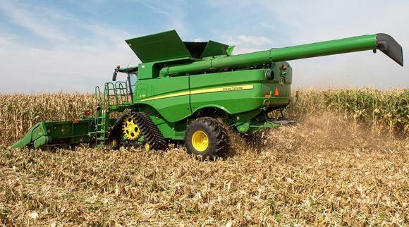 John Deere Combine >> John Deere Adds More Automation To Combine Harvester Range