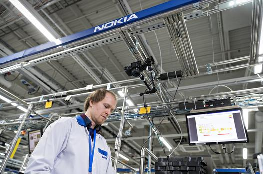 Nokia's 5G factory recognised as 'Advanced 4th Industrial Revolution Lighthouse'