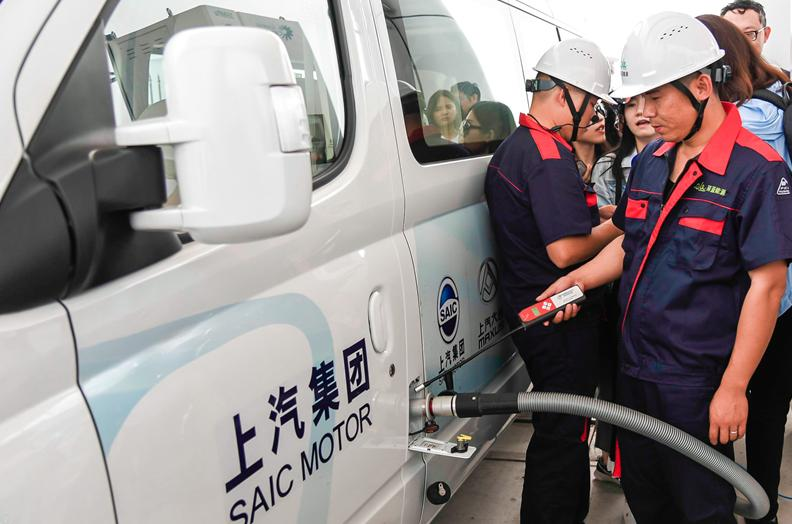 World's largest hydrogen fuelling station launched in Shanghai