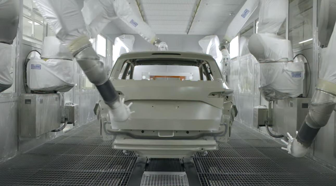 Car Paint Shop >> Skoda Opens New 200 Million Paint Shop Featuring 66 Robots