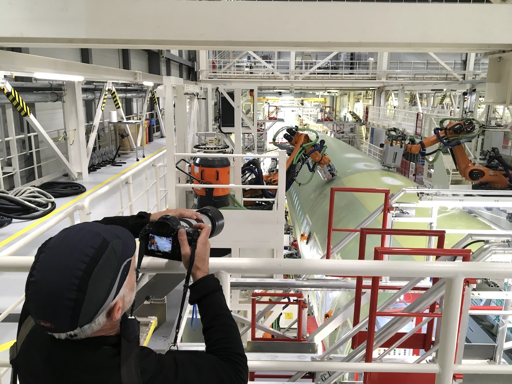 Special Feature Tour Of Airbus Advanced Manufacturing Facility In Germany