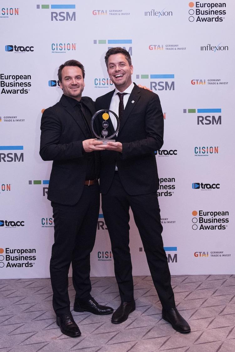 Autostore Wins Prestigious Prize At The European Business Awards